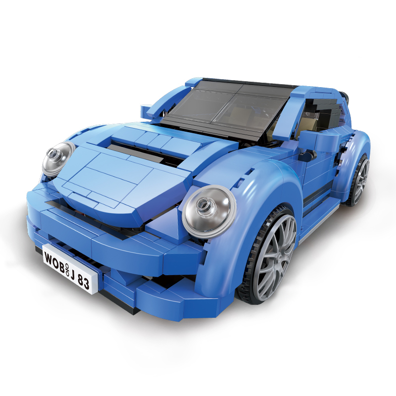 Xingbao Technic Car Blocks 944Pcs Porsched Beetle Car Building Bricks Toys for Children Educational Christmas Gift Toys 03015 aiboully 7061 550pcs technic motorbike motorcycle car bicycle building bricks blocks toys for children gift