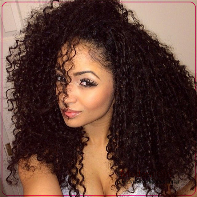 17a Brazilian virgin hair  curly virgin curly hair wet and ...