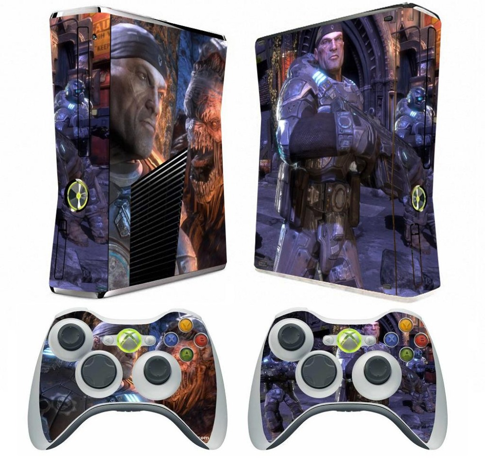 Star Wars 022 Vinyl Decal Skin Sticker For Xbox360 Slim And 2 Controller Skins Sale Price Faceplates, Decals & Stickers