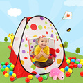 free  shipping Children's folding tent indoor pool baby marine ball ball game house toys tuba Children's Day gift
