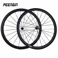 38mm wheelset del carbón del remachador rueda hueca aero 23mm 3 K UD armadura oferta marca llanta de bicicleta ruedas de bicicleta 700c de fibra de carbono pegatina