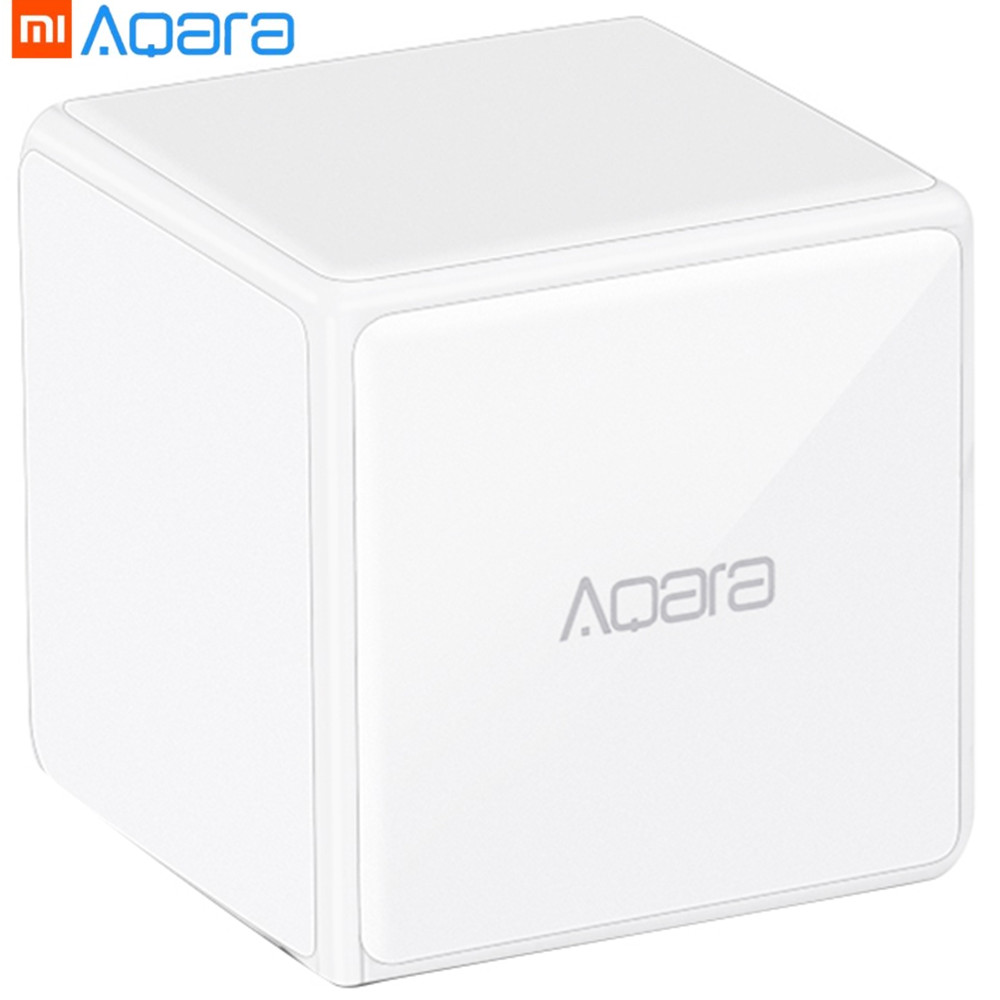 Cube Smart Home Controller 6 Actions Operation For Home Device Zigbee Version App Wireless Remote Control Device