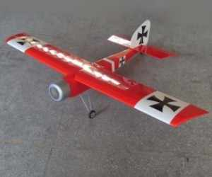 63in Baron 15CC RC Model Gasoline/Petrol Airplane ARF -Red Color