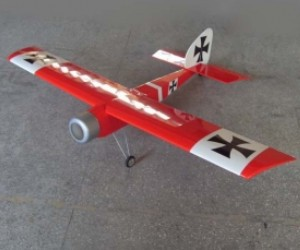 63in Baron 15CC RC Model Gasoline/Petrol Airplane ARF -Red Color image