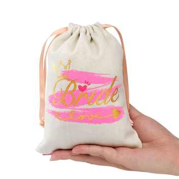 OurWarm 11pcs Bridal Shower Favor Bag Guest Gifts Bachelorette Party Party Favors Bags Bridesmaid Gift Wedding Decor