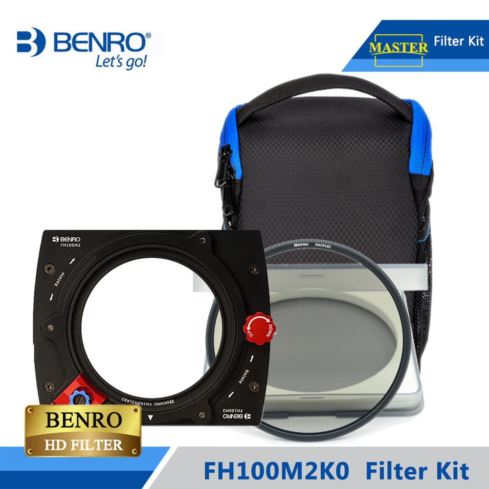 Benro FH100M2K0 100mm Filter Kit System ND/GND/CPL Filter Hold Support For More Than 16mm Wide Angel Lens DHL Free Shipping