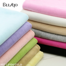 Stretchy cotton velvet Knitted fabric by half meter DIY sewing baby cotton fabric for clothing blanket making material 50*150cm