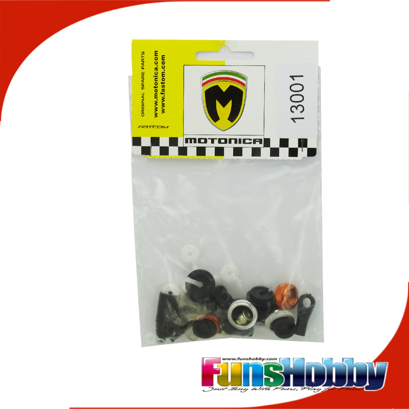 Italy Motonica 1:8 On Road Nitro Car Parts Complete Shock Absorber Without Springs Applied to P81RS/PRO/ELECTRO(COD.13001RD) italy motonica 1 8 on road rc model nitro car parts front shocks mount rs carbon fibre applied to p81 cod 05187