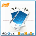 2pcs/lot Touch Panel Outer Glass Lens Cover with Touch Screen Digitizer Frame Bezel for iPhone 4 4S White and Black Color