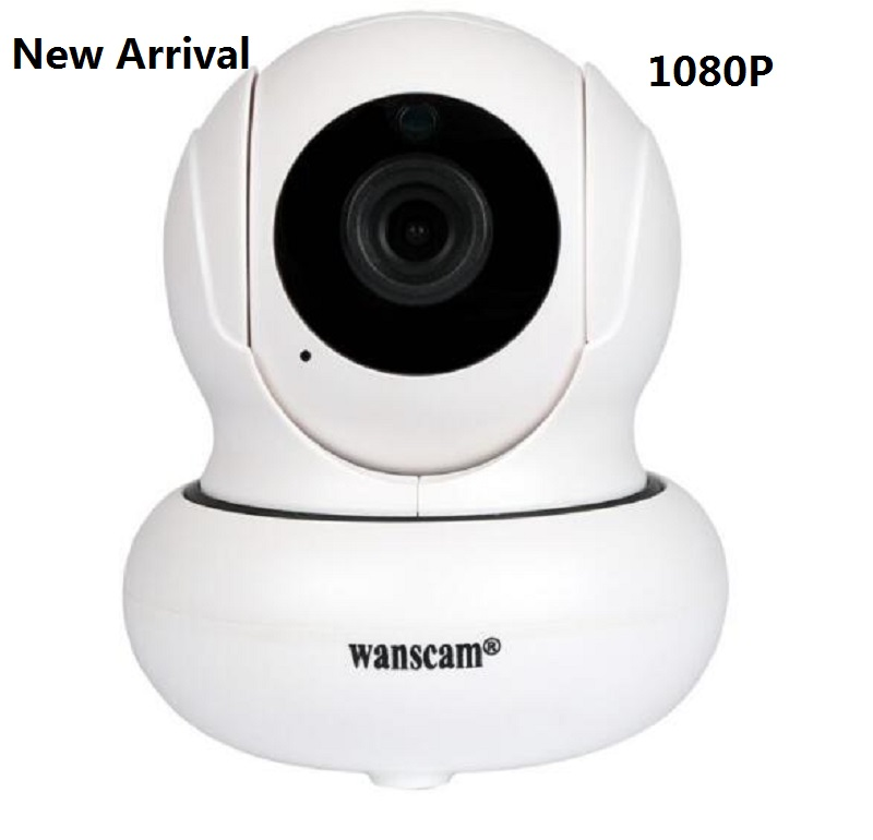 New Arrival Wireless Wifi 1080P IP Indoor Camera P2P Plug AND Play Pan Tilt Security Two Way Audio Alarm 2 Megapixel IP Cam ...