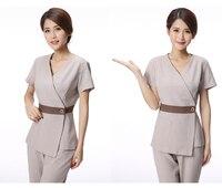 nurse uniform medical uniforms women clothing accessories pharmacy hospital spa clothes beautician Short sleeve suit pants