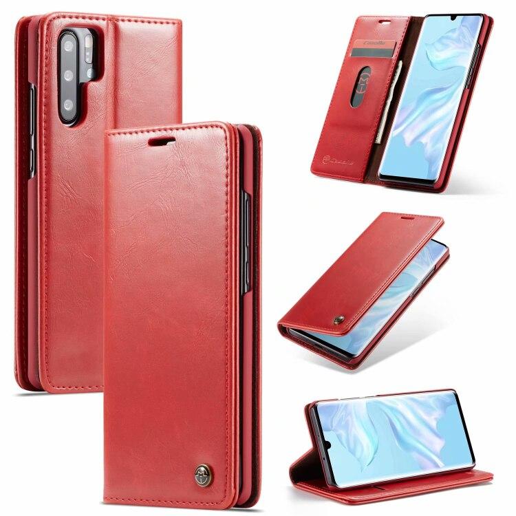 Clássico de cera de petróleo carteira de couro do PLUTÔNIO para Huawei P20lite P20Por mate20 P30Poe para iPhone 6 S 7 8 Mais XS XR XSMAX caso do telefone móvel