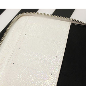 Image 5 - New Arrive lian A5 A6 White & Color Original HOBO Zip Bag Planner Creative Faux Leather Diary Notebook Without Filler Pages