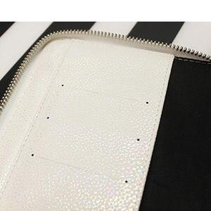 Image 5 - Nowy przyjeżdża lian A5 A6 biały i kolor oryginalny HOBO Zip Bag Planner kreatywny Faux skórzany dziennik bez stron wypełniacza