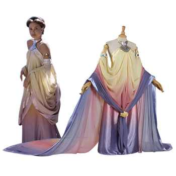 2017 Star Wars Costume Revenge of the Sith Padme Amidala Lake Dress Star Wars Padme Amidala Costume Cosplay Dress Custom Made - DISCOUNT ITEM  10% OFF All Category