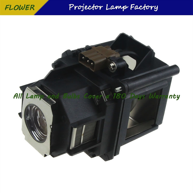 ELPLP46 Free shipping Brand NewProjector Bare Lamp with housing For EPSON EB-G5200W/PowerLite Pro G5200WNL/PowerLite Pro G5350NL elplp74 for eb 1930 powerlite 1930 powerlite 1935 compatible lamp with housing free shipping
