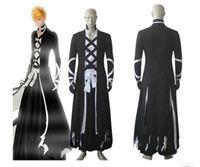 Bleach Kurosaki Ichigo New Bankai cosplay costume outfit Halloween Cloak
