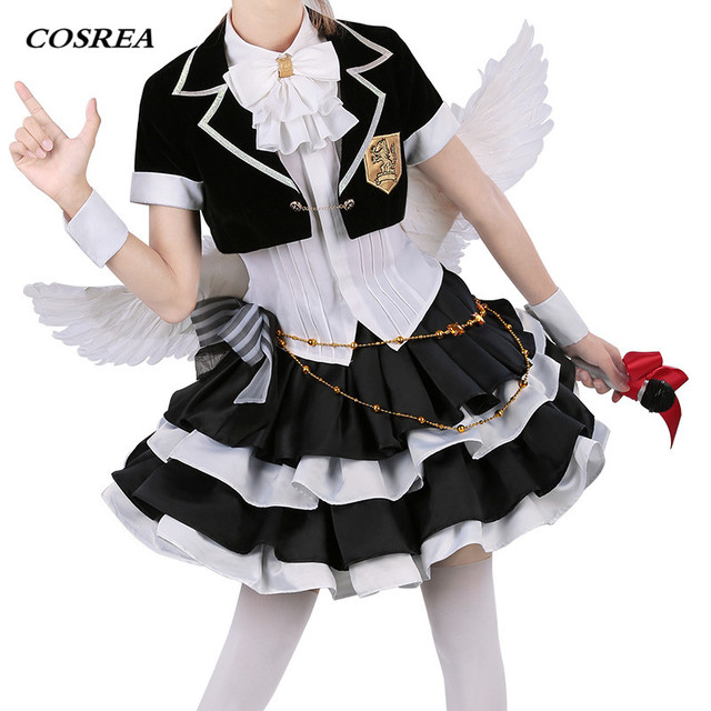 e733499230cc COSREA Fate Grand Order FGO Cosplay Costume Astolfo Fate Apocrypha Dress  Uniform With Bow Costumes Halloween Party For Woman