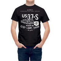 Nieuwe Arrivals2017 Populaire Ons Luchtmacht Leger Serie Typografie T24745 Ontwerp T Shirts Zomer Korte Mouw Tee