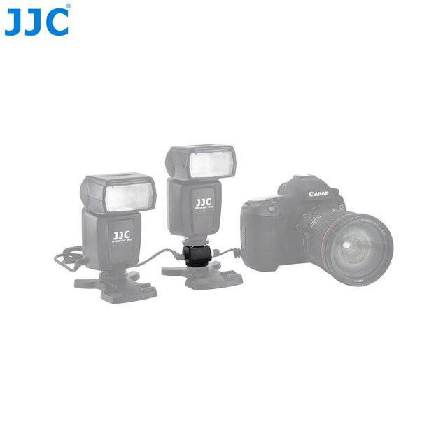 JJC Flash adaptateur de chaussure chaude avec prise femelle PC 3.5mm prise 1/4 20 trépied chaussette chaussures froides monter pour Portable Speedlight