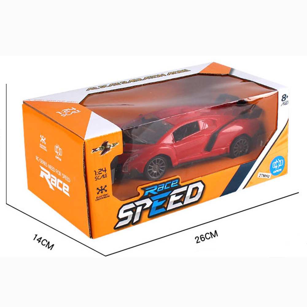 Image 5 - Upgrade version Super Racing Car door open Rc Speed Radio Remote Control Sports Car 1:24 Motor Xmas Gift Kid toy-in RC Cars from Toys & Hobbies