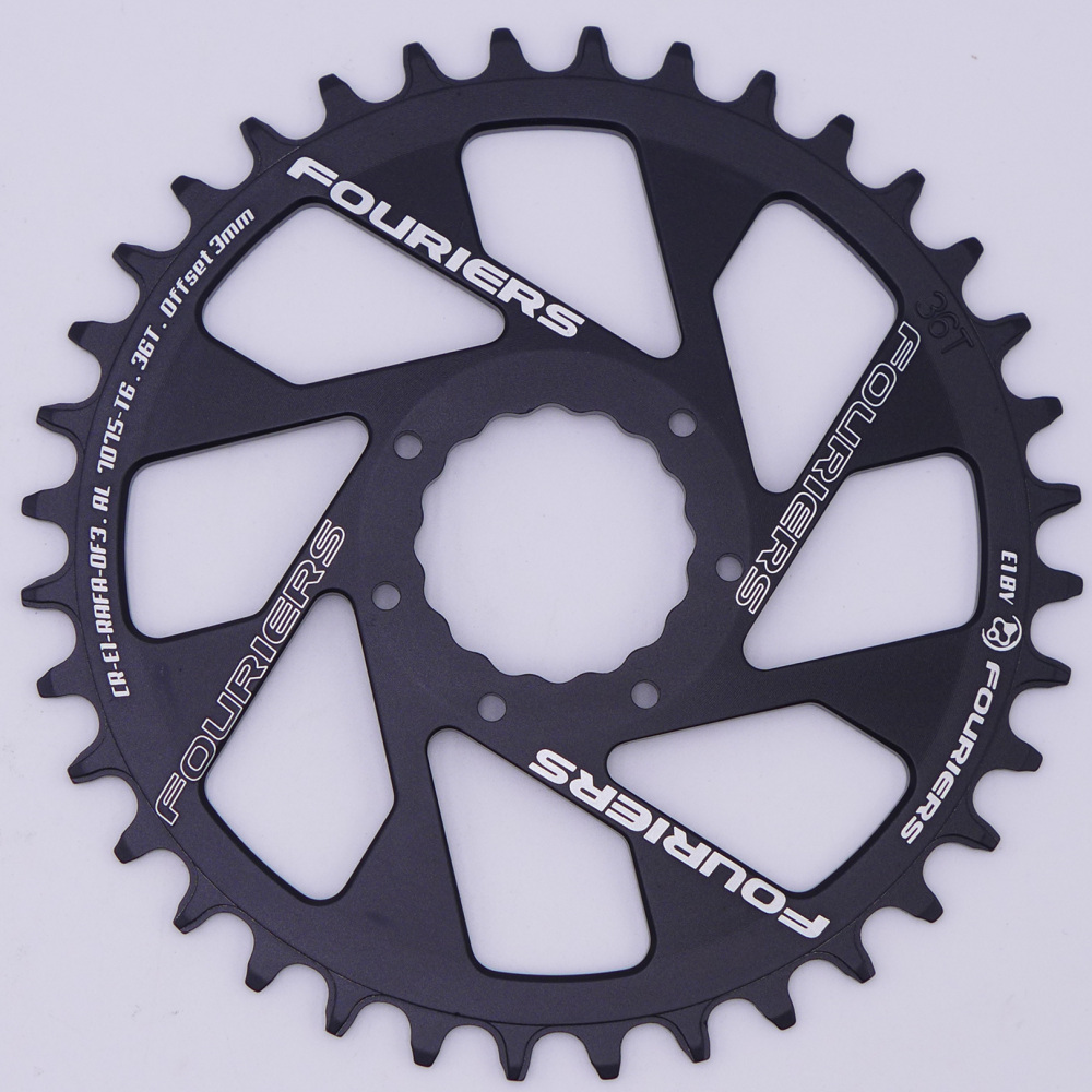 FOURISER Single Narrow Wide Chainring For Raceface 34T 36T 38T Offset 0mm 3mm