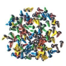 جديد 100 قطعة 8 مللي متر مزيج اللون البلاستيك سلامة عيون DIY بها بنفسك ل تيدي بير دمية محشوة المفاجئة الحيوان دمية دمية الحرفية لعبة جزء