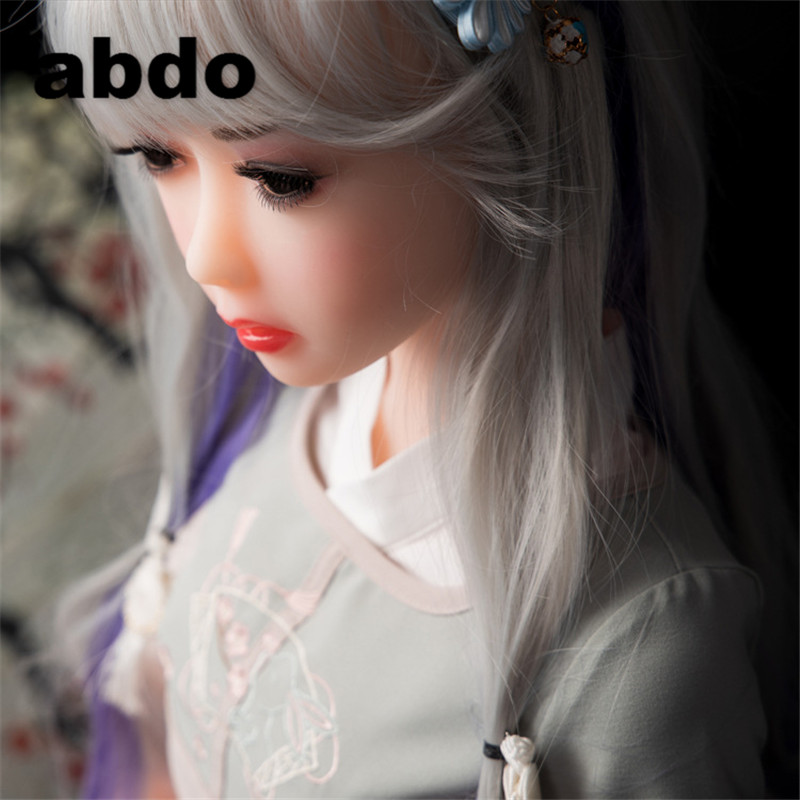 100-115cm silicone sex dolls robot japanese anime full oral love doll realistic adult for men toys big breast sexy mini vagina#