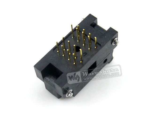 SOP16 SO16 SOIC16 IC51-0162-271-3 Yamaichi IC Test Burn-In Socket Programming Adapter 4.5mm Width 1.27mm Pitch купить