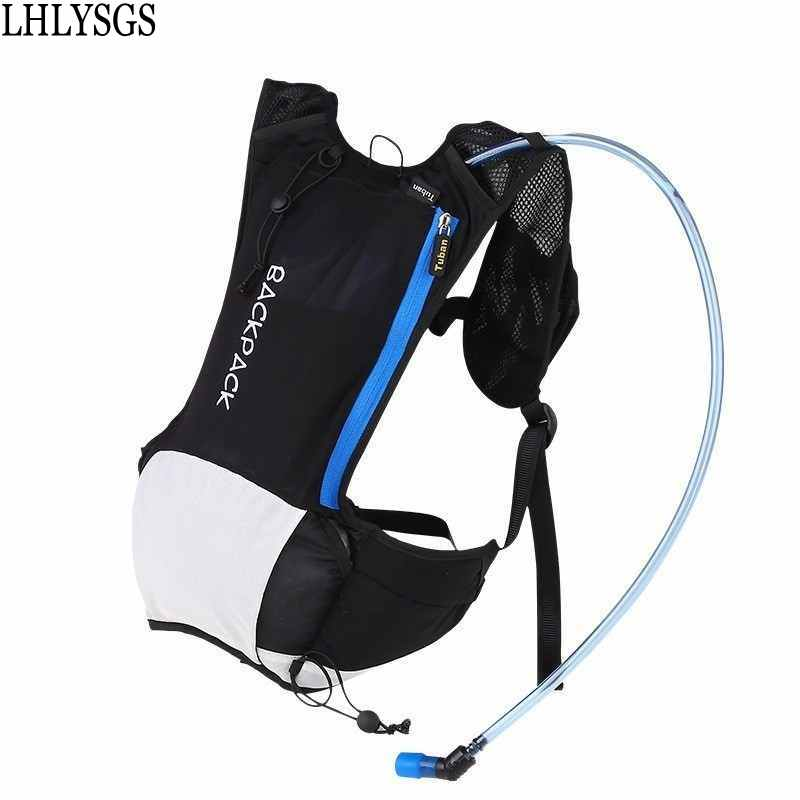 LHLYSGS Brand Men Fashion Outdooring Runninging Breathable Backpack Bicycle Rideing Sportsing Backpack Carry Water Bag Organizer ...