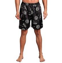 Hot Sale New Men's Satin Summer New Shorts Pajamas Pyjamas  Male Casual Lounge Short Pants Loose Soft Sleep Bottoms M L XL 2XL