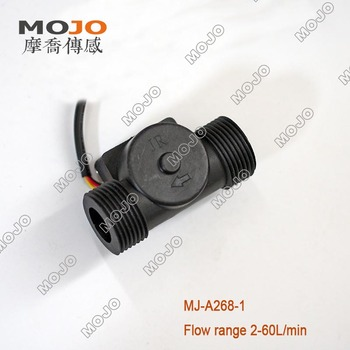 Medical apparatus and instruments MJ-A268-1(10pcs/lot) 1 Inch Plastic Hall flow sensor Water Flow Switch hall flow sensor