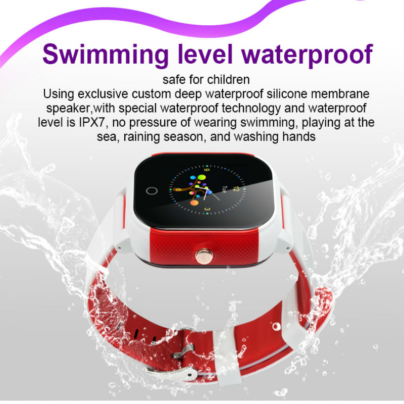 Waterproof Precise GPS Smart Watch FA23 support GPS WIFI SOS LBS IPX7 Locate Finder emergency call