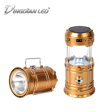 Solar Power Camping Lantern Portable Led Camping Light Flashlights LED Solar Rechargeable Hand Lamp Light Torch 2.5W Flashlight solar mobile power camping light ultra thin solar charging po 8000 10000 ma led flashlight
