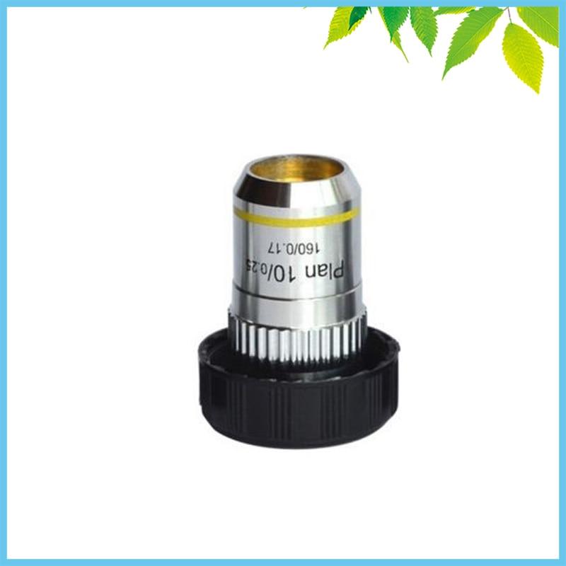 195 Biological Microscope 10X Plan Achromatic Objective Lens  цены
