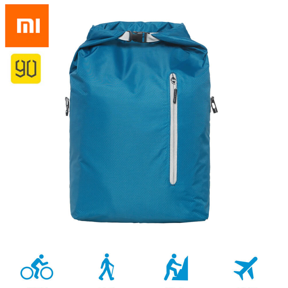 100%Xiaomi Chain 90fun Sports Foldable Backpack Multipurpose Sports Leisure Travel Backpack Portable Bag with 20L Capacity 90fun