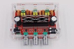 Image 5 - TPA3116 D2 50Wx2 + 100 واط 2.1 قناة الصوت الرقمية مضخم صوت مكبر كهربائي مجلس 12 ~ 24 فولت مكبر للصوت لوحات وحدات