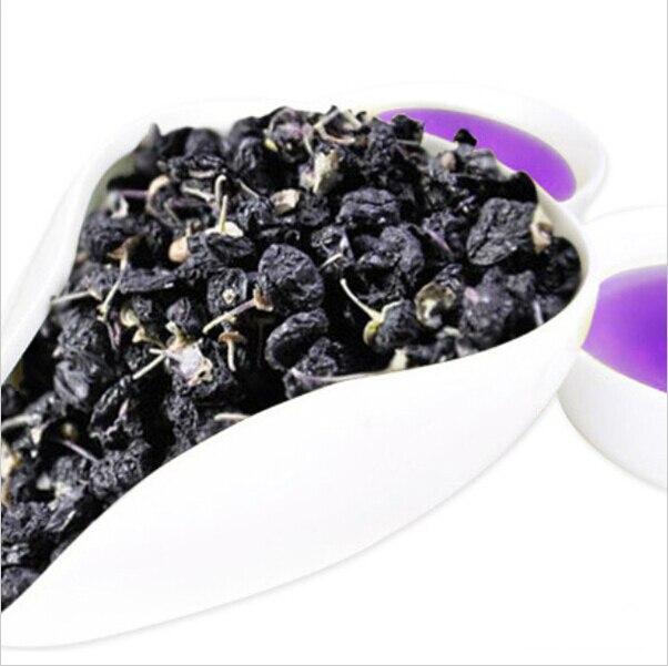 100g Xinjiang Rare Pure Natural Dried Wild Black Goji Berries