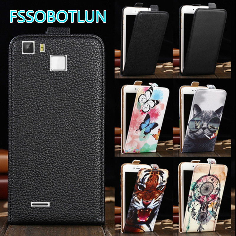Factory Direct! TOP Quality Printed Cartoon Up and Down Flip PU Leather Cell Phone Case Cover For <font><b>CUBOT</b></font> <font><b>S600</b></font> image
