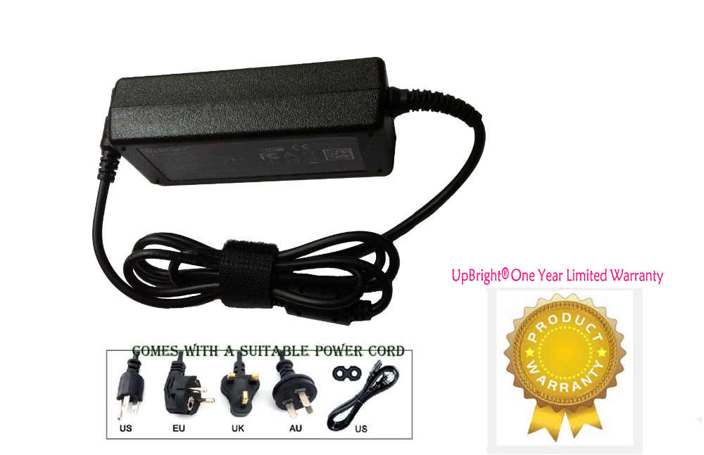 """UpBright New AC / DC Adapter For Dell Inspiron 15 7000 Series 15-7568 I7568 17568 I7568-2867T 17568-2867T 2-in-1 15.6"""" Laptop"""