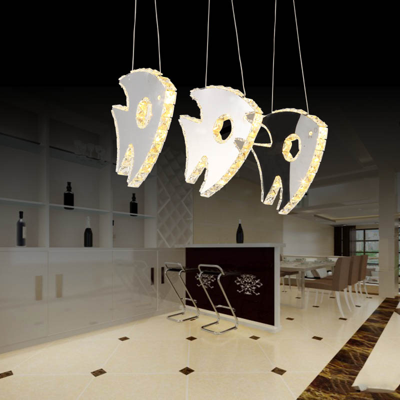 LED Pendant Lights restaurant  modern minimalist dining art bar crystal pendant lamps Children toy modern fish shaped 1/3 lamps a1 led pendant lights restaurant lamp crystal glass lamps modern minimalist new creative art dining room bar pendant lamps