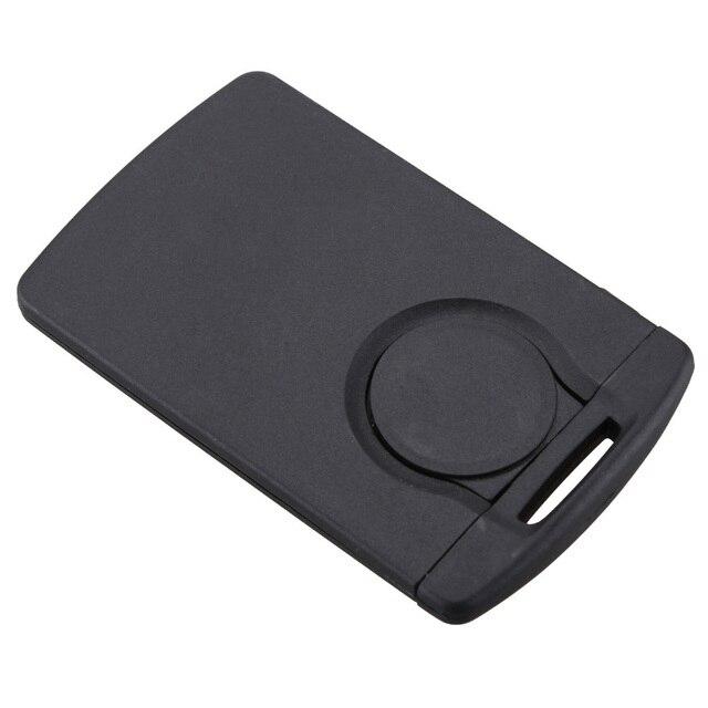 Clave sin grabar con mando a distancia inteligente de 4 botones con llave con hoja, funda para llave FOB para Renault Koleos Clio, carcasa para llaves originales