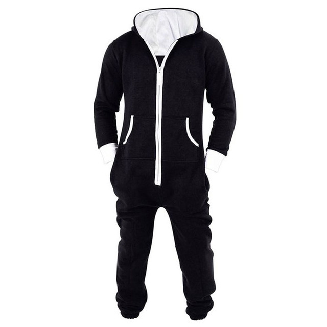 ed338012e Adult Unisex Onesie Jumpsuit One Piece Non Footed Pajama Playsuit ...
