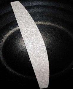 Image 2 - 150/ 150 50 יח\חבילה זברה ירח כרית אמנות לוח פצירה מלטש קבצי מניקור פדיקור # 44NFE