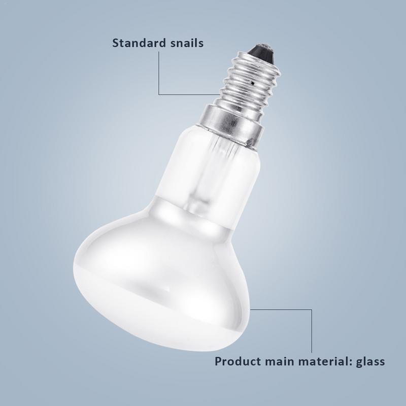 Edison Bulb Light E14 Ses 30w R39 Clear Reflector Spot Bulbs Lava Lamp Incandescent Filament Lighting 220v In From