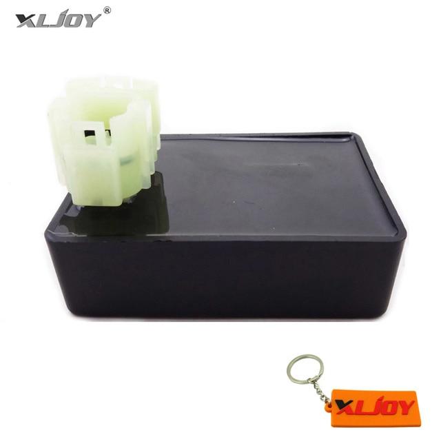 Xljoy moped 스쿠터 6 핀 dc 점화 cdi rev box kymco 민첩성 50 125 명 4 t 150 sento 50 스쿠터
