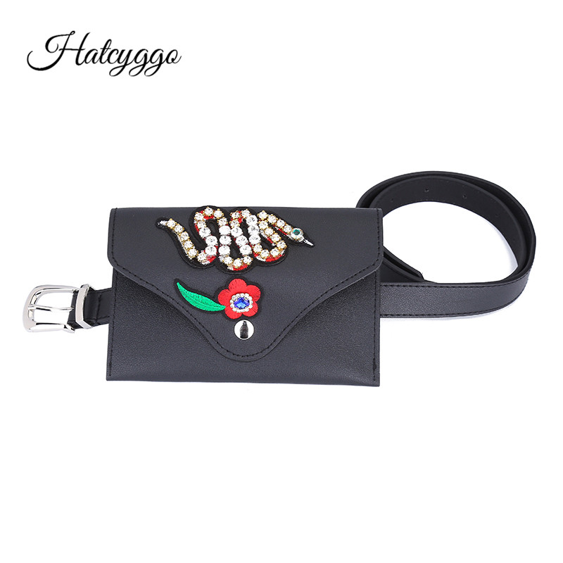 HATCYGGO Fashion Womens Belts Pu Leather Small Bee Waist Strap Belt For Female Jeans Casual Practical Ladies Luxury