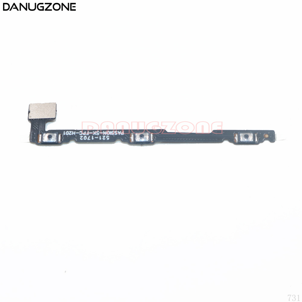 Power Button Switch Volume Button Mute On / Off Flex Cable For Lenovo Vibe P1 P1C58 P1C72 P1A42