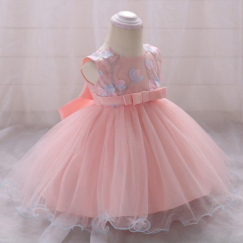 31574505f Navidad Bebé Ropa vestidos para niñas traje princesa vestido infantil de la  boda chica Primer cumpleaños vestido de fiesta 6 meses 1 2 año