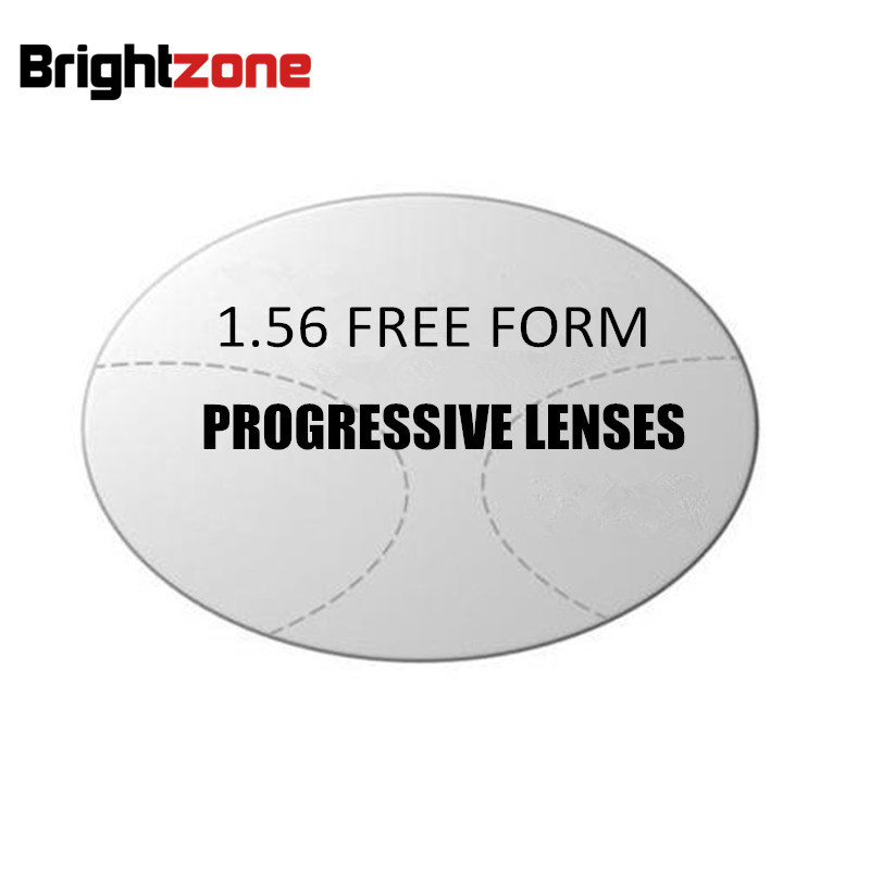 1 56 Interior Progressive multi focus HC CR 39 aptitude lenses prescription lens for middle old